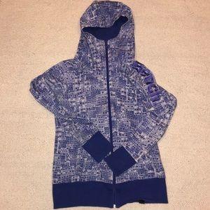 Bench blue geometric print hoodie size L